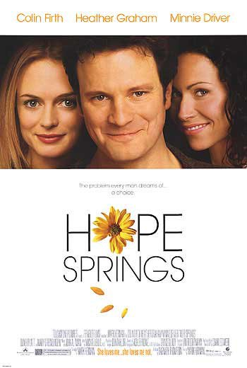 Hope Springs Original Movie Poster Single Sided 27 X40