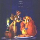 Lady In The Tramp  Movie Poster Double Sided 27x40 Original