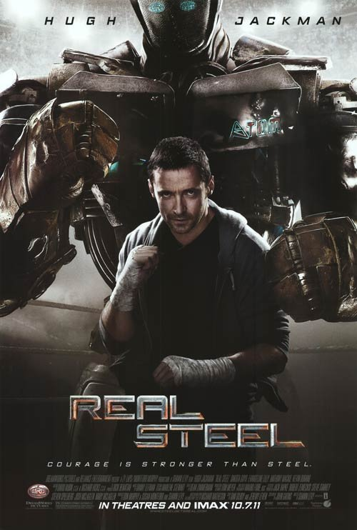 Real Steel Regular Original Movie Poster Double Sided 27 X40
