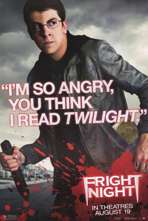 Fright Night Version C Original Movie Poster Single Sided 27 X40