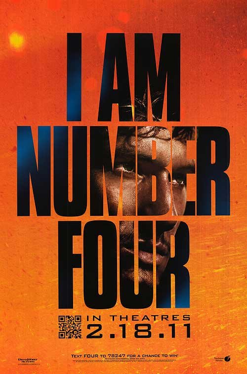 I Am Number Four Advance Original Movie Poster  Double Sided 27 X40