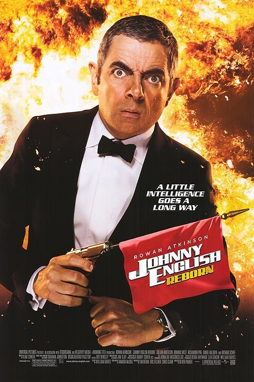 Johnny English : Reborn Original Movie Poster Double Sided 27 X40