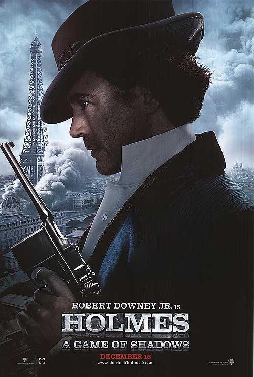 Sherlock Holmes : Games of Shadow (R. Downey Orig Movie Poster  Dbl Sided 27X40