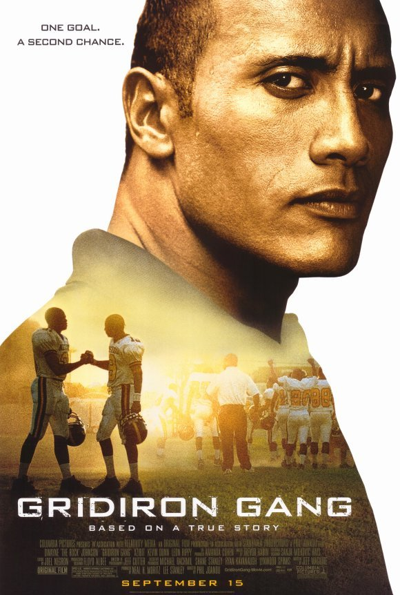 Gridiron Gang Regular Original Movie Poster Single Sided 27x40