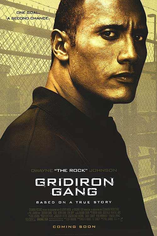 Gridiron Gang Intl Original Movie Poster Single Sided 27x40