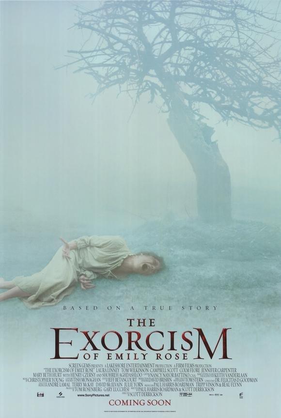 Exorcism Of Emily Rose Regular Original Movie Poster Double Sided 27 X40