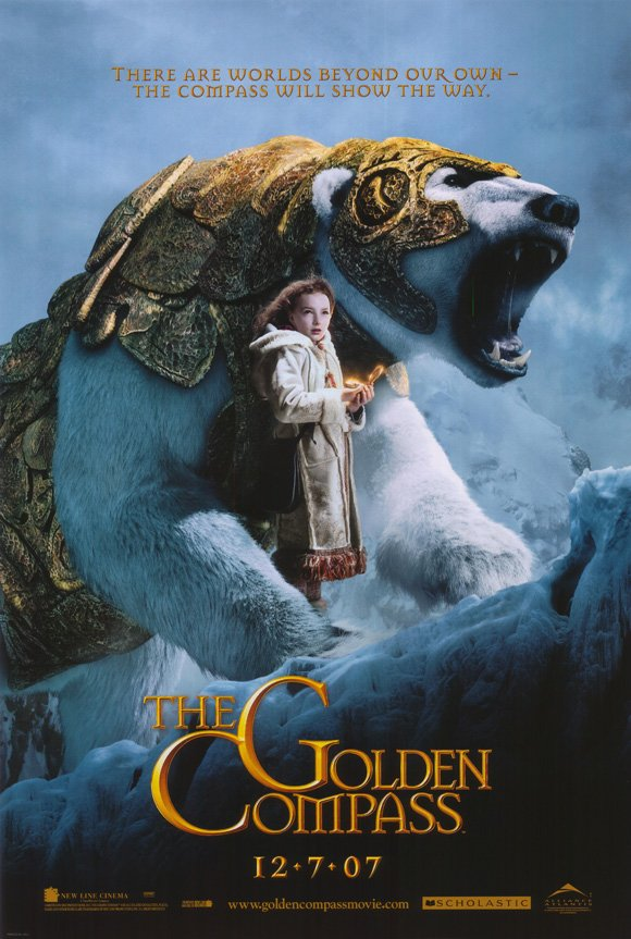 Golden Compass Version A Original Movie Poster Double Sided 27x40
