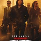 Mission Impossible : Ghost Protocol Intl Original Movie Poster Double Sided 27x40
