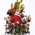 Arthur Christmas Regular Original Movie Poster Double Sided 27x40
