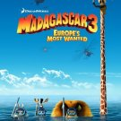 Madagascar 3 Advance Original Movie Poster Double Sided 27x40