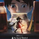 Secret World Of Arrietty Original Movie Poster  Double Sided 27 X40