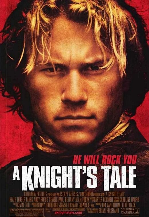 Knight's Tale  Original Movie Poster Double Sided 27 X40
