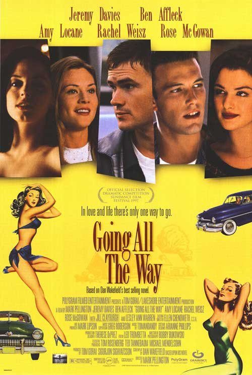 Going All The Way Original Movie Poster Single Sided 27 X40