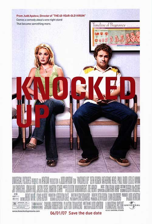 Knocked Up  Original Movie Poster Double Sided 27 X40