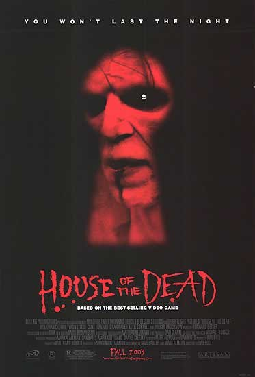 House Of The Dead Original Movie Poster Single Sided 27 X40