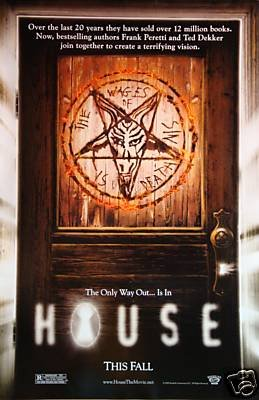 House Original Movie Poster Double Sided 27 X40