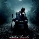 Abraham Lincoln : Vampire Hunter Original Movie Poster Double Sided 27 X40