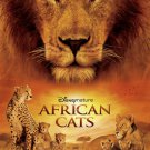 African Cats Original Movie Poster Single Sided 27x40