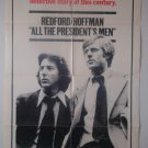 All The President's Men Single Sided Orig Movie Poster 27x41