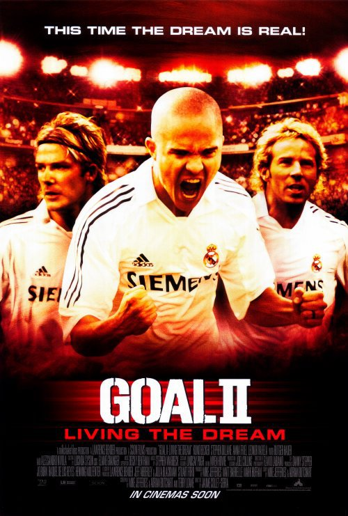Goal II Original Movie Poster Double Sided 27x40