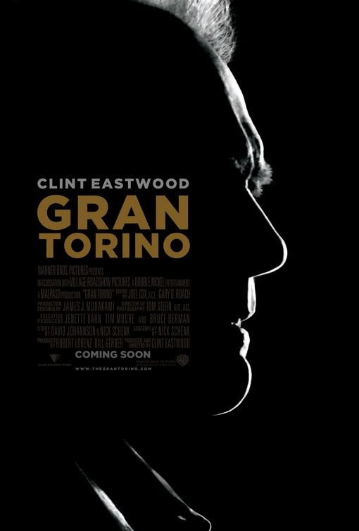 Gran Torino Advance Original Movie Poster Double Sided 27x40