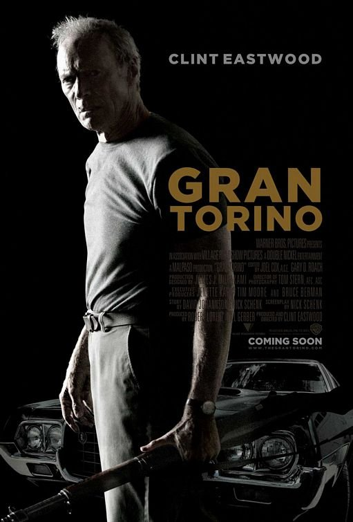 Gran Torino Regular Original Movie Poster Double Sided 27x40