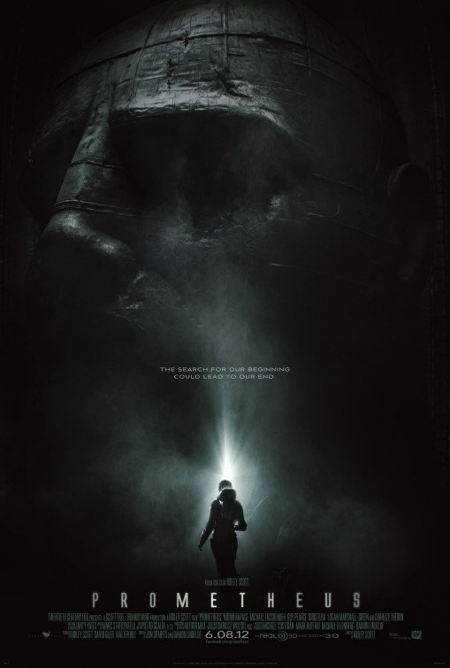 Prometheus Original Movie Poster Single Sided 27 X40