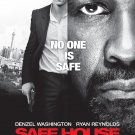 Safe House Regular Original Movie Poster Double Sided 27x40