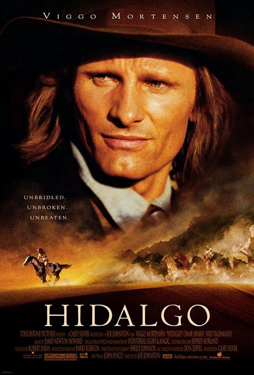 Hidalgo Regular Original Movie Poster Double Sided 27x40