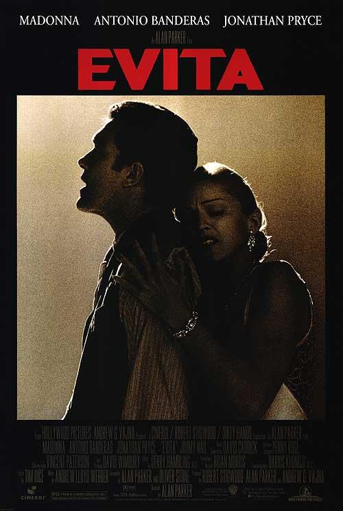 Evita Original Movie Poster Single Sided 27x40