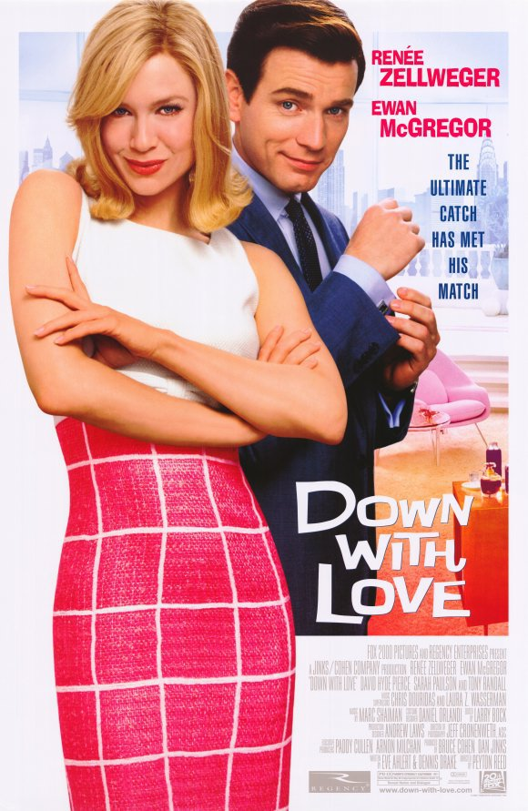 Down With Love Single Sided Original Movie Poster 27x40