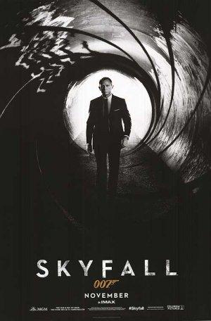 Skyfall Advance (November Imax) Original Movie Poster Double Sided 27 X40
