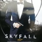 Skyfall Intl Coming Soon  Original Movie Poster Double Sided 27 X40
