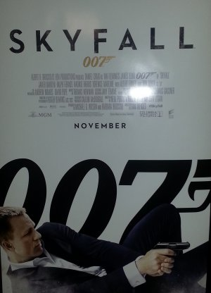 Skyfall Regular November Original Movie Poster Double Sided 27 X40