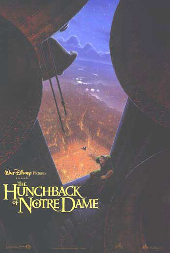 Hunchback Of The Notre Dame Advance Original Movie Poster Double Sided 27x40