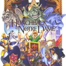 Hunchback Of The Notre Dame Regular Original Movie Poster Double Sided 27x40