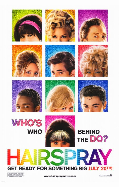 Hairspray Advance Original Movie Poster Double Sided 27x40