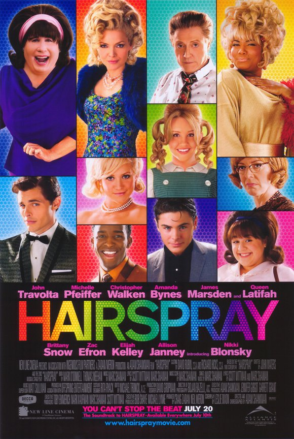 Hairspray Regular Original Movie Poster Double Sided 27x40