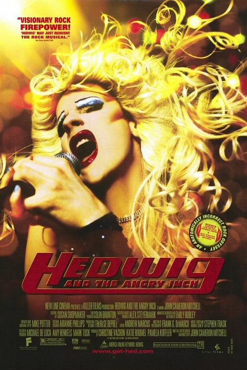 Hedwig and The Angry Inch Original Movie Poster Single Sided 27x40