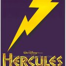 Hercules Advance Purple Original Movie Poster Double Sided 27x40