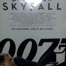 Skyfall Spanish Original Movie Poster Double Sided 27 X40