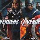 Avengers Mini Ver B Original Movie Poster Double Sided 13 x19