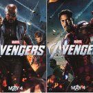 Avengers Mini Ver C Original Movie Poster Double Sided 13 x19