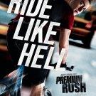Premium Rush  Original Movie Poster Double Sided 27x40