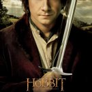 Hobbit : An Unexpected Journey Final Original Movie Poster Double Sided 27x40