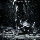 Batman Dark Knight Rises Advance B Original Movie Poster Double Sided 27 X40