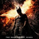 Batman Dark Knight Rises Final Original Movie Poster Double Sided 27 X40