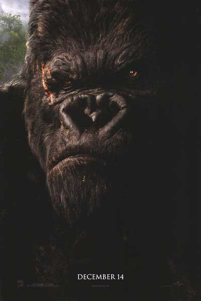 King Kong Advance Original Movie Poster Double Sided 27x40