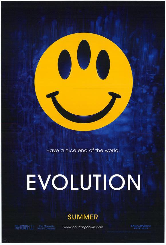 Evolution Advance Original Movie Poster Singe Sided 27x40