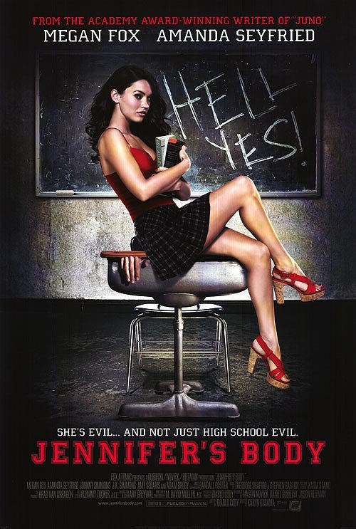 Jennifer's Body Original Movie Poster Double Sided 27x40